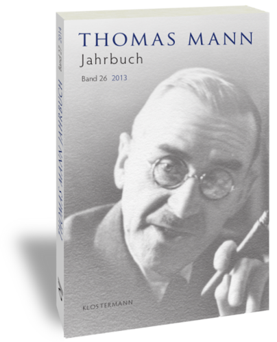 Heinrich Mann jahrbuch