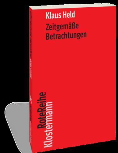 Zeitgemäße Betrachtungen Book Cover