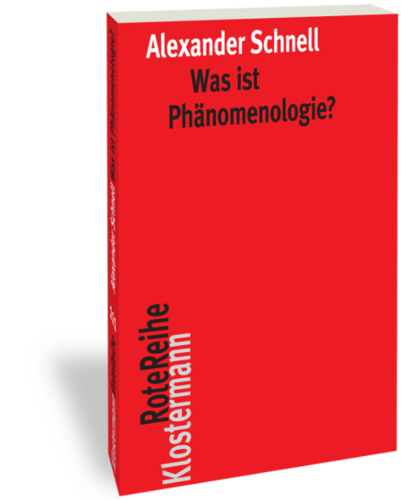Was ist Phänomenologie? Book Cover